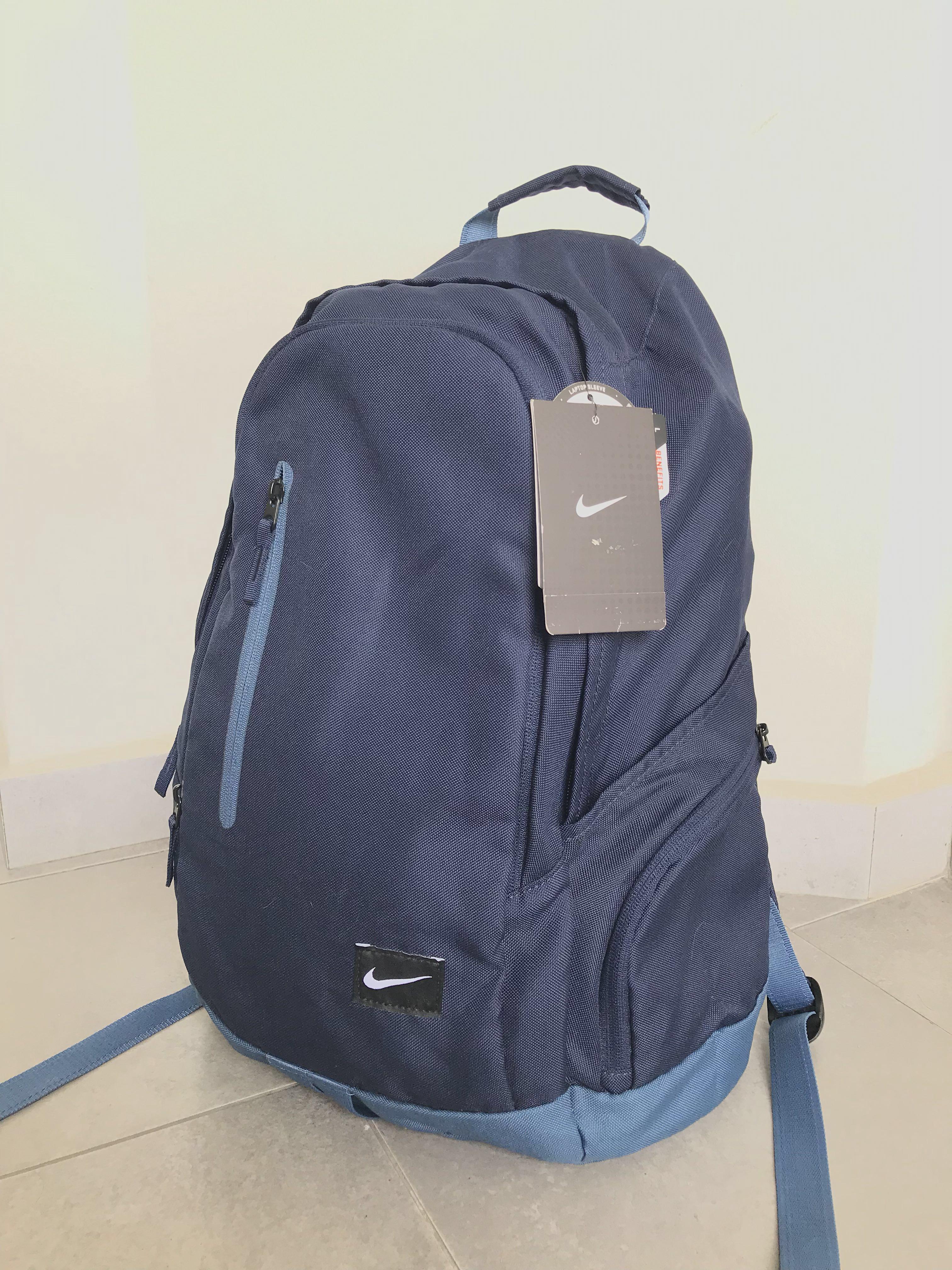 Nike Navy Blue Backpack