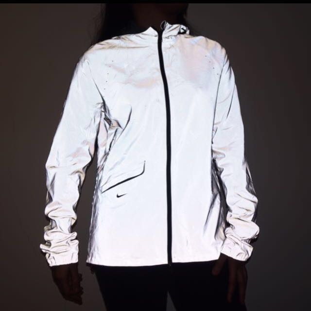 90248962e093 Nike Vapor Flash Jacket Reflective Silver