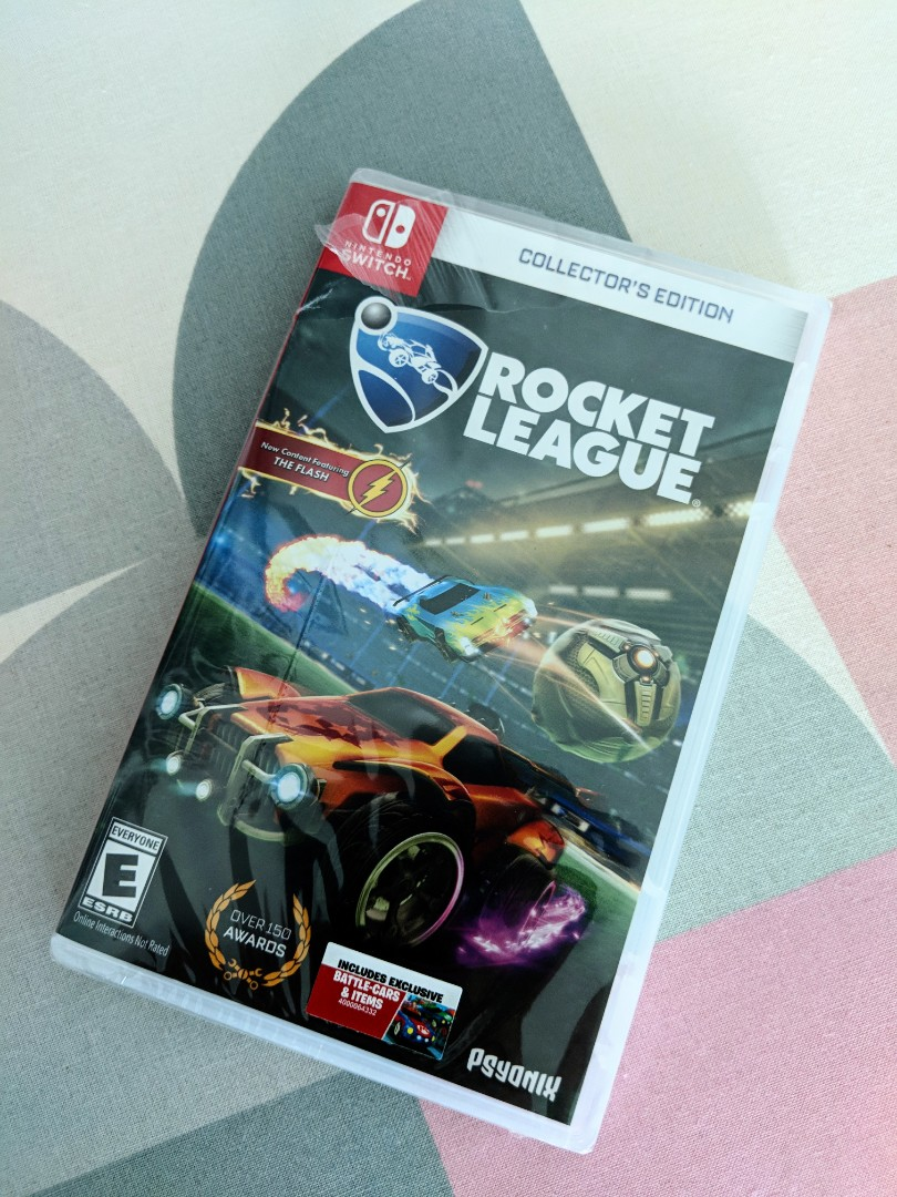 56bff2771e4 Nintendo Switch Rocket League Collector's Edition, Toys & Games ...
