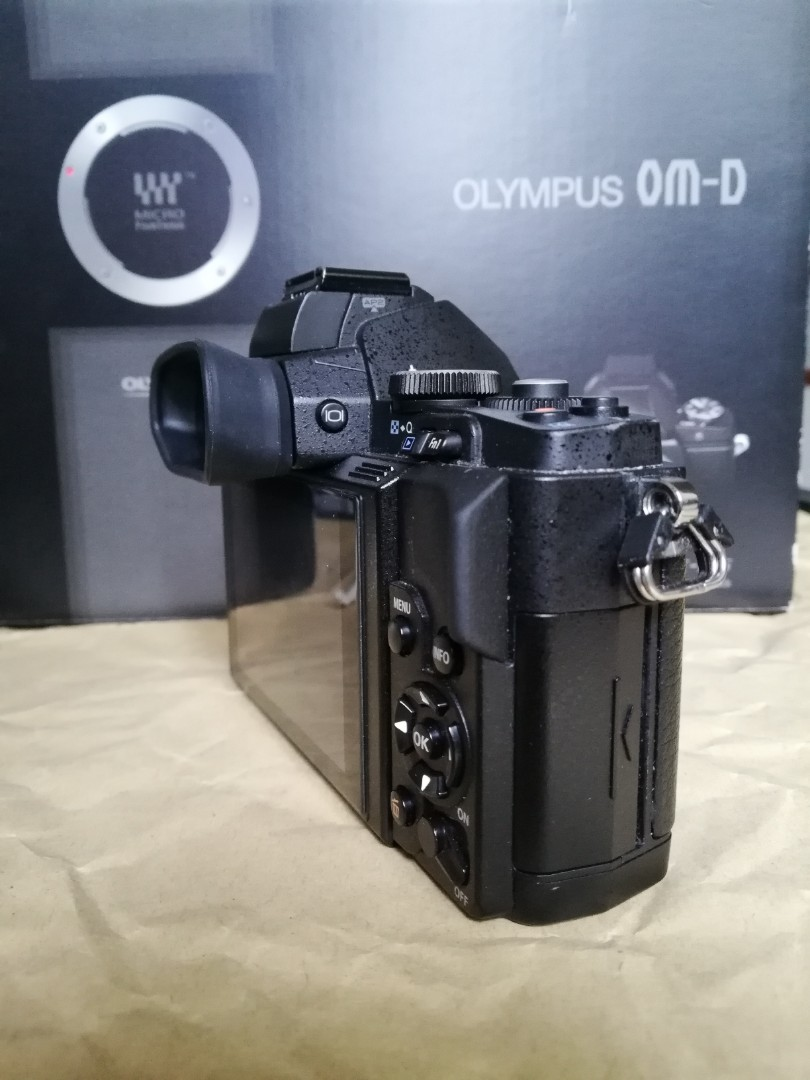 Olympus EM5 Elite Black Edition