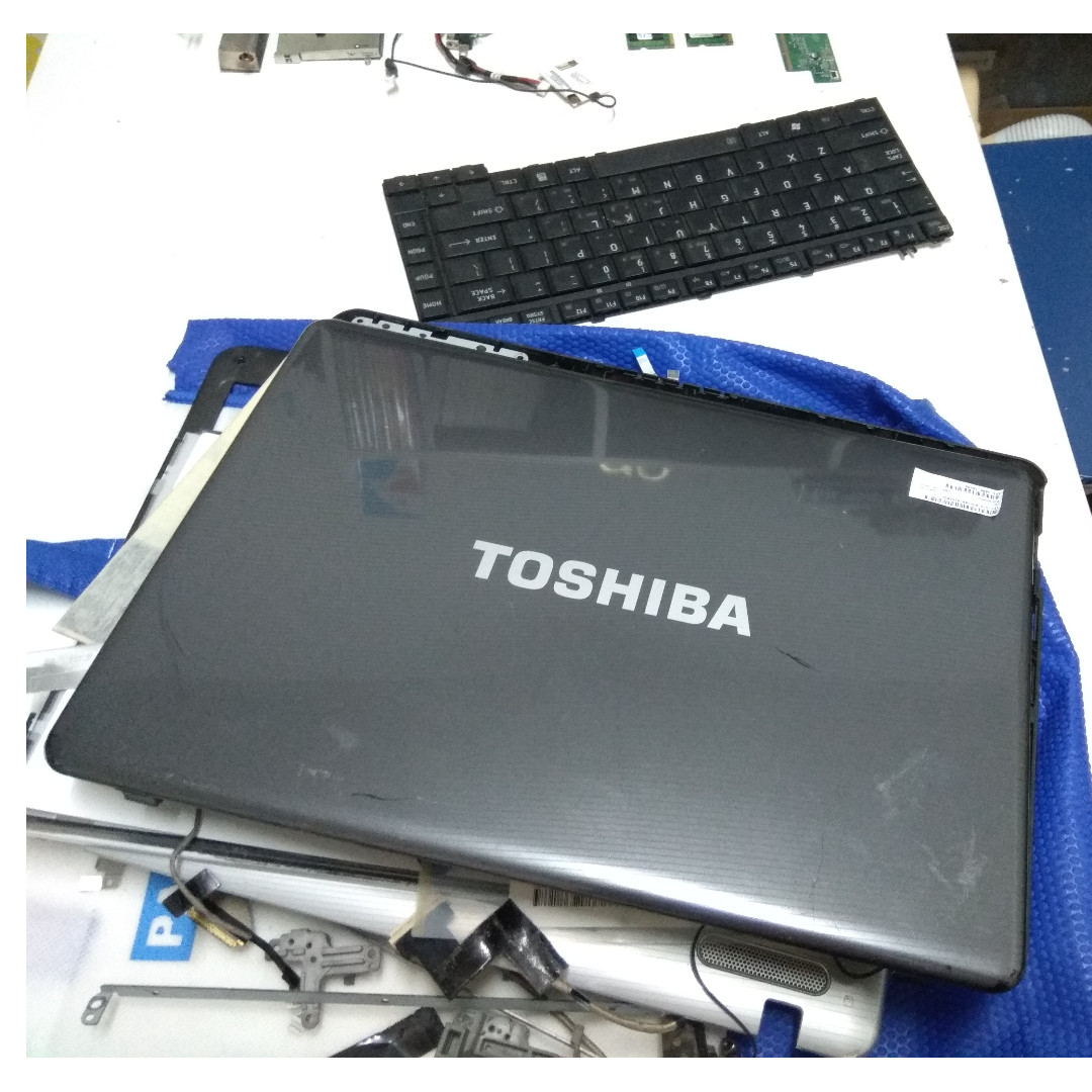 Original TOSHIBA Laptop Motherboard Mobo Spare-parts (Check my profile for  more TOSHIBA Accessories)