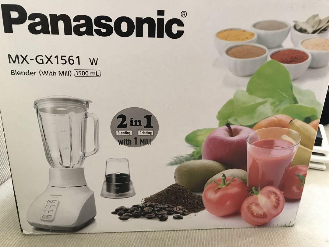 Panasonic glass blender