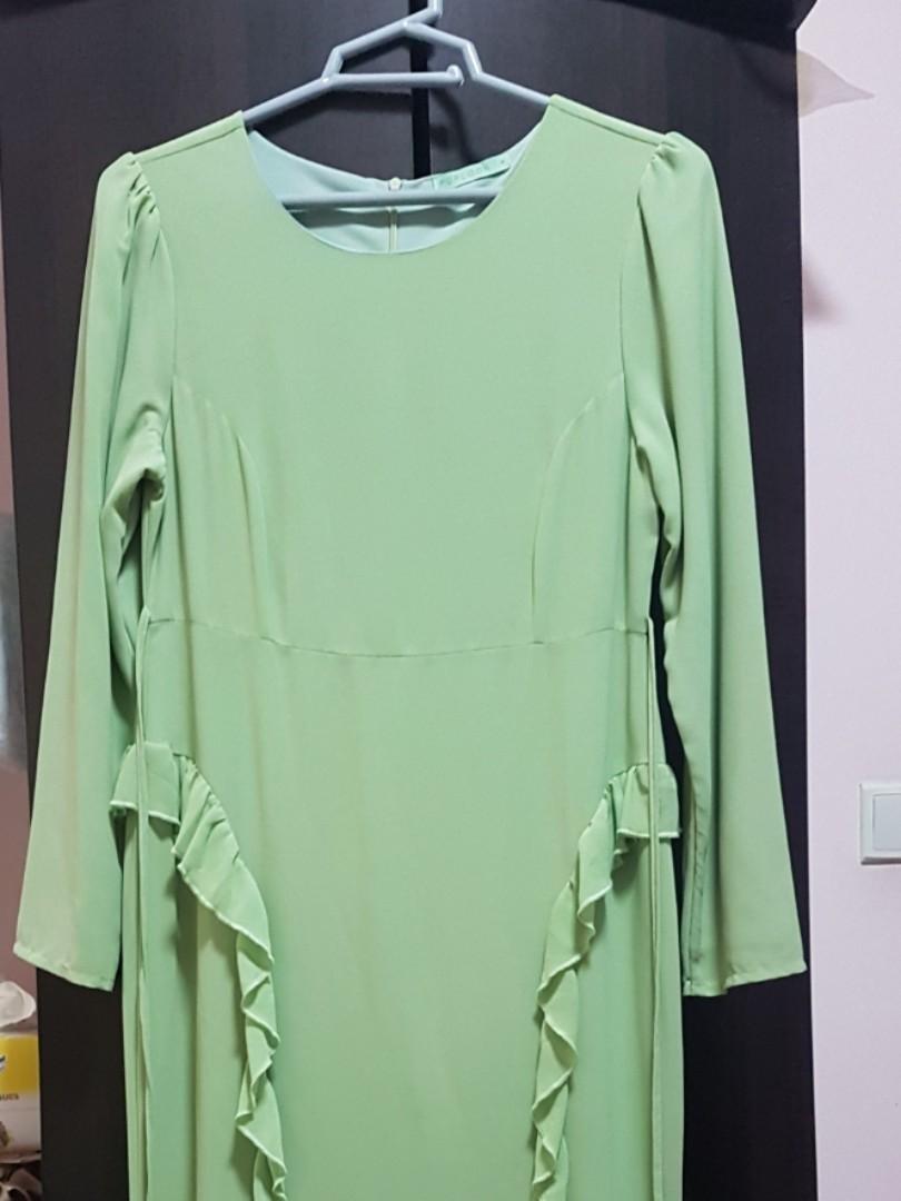 Poplook Long Dress Womens Fashion Clothes Dresses Skirts On Kamera Mini Gantungan Baju Spy Cam Hook Photo