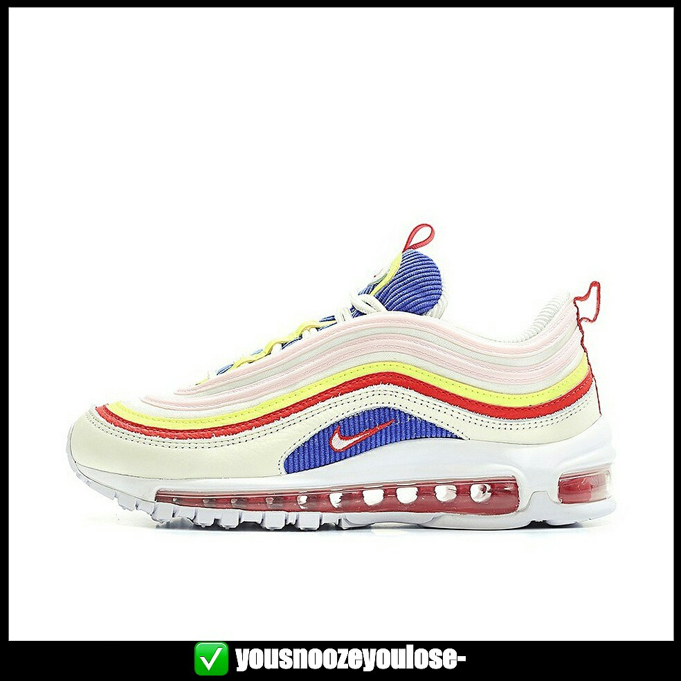 nike air max 97 grey with blue tick