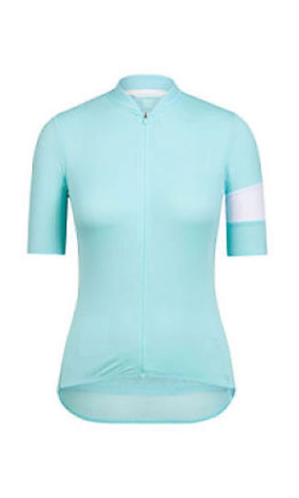 Rapha Women Classic Flyweight cycling jersey - pale turquoise ... fd186a75a