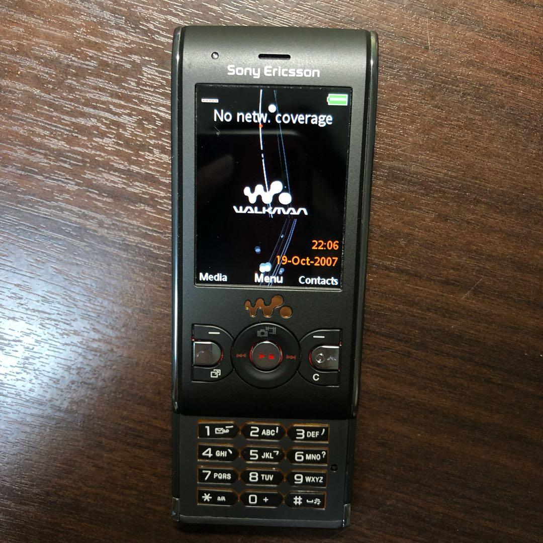 63bf062cd49273 Sony Ericsson W595 [2G] Black - Vintage Walkman, Mobile Phones ...