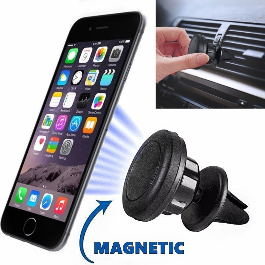 b9a5433fd34 Universal Magnetic Car Mount Dash Air Vent Stand GPS Cell Phone ...