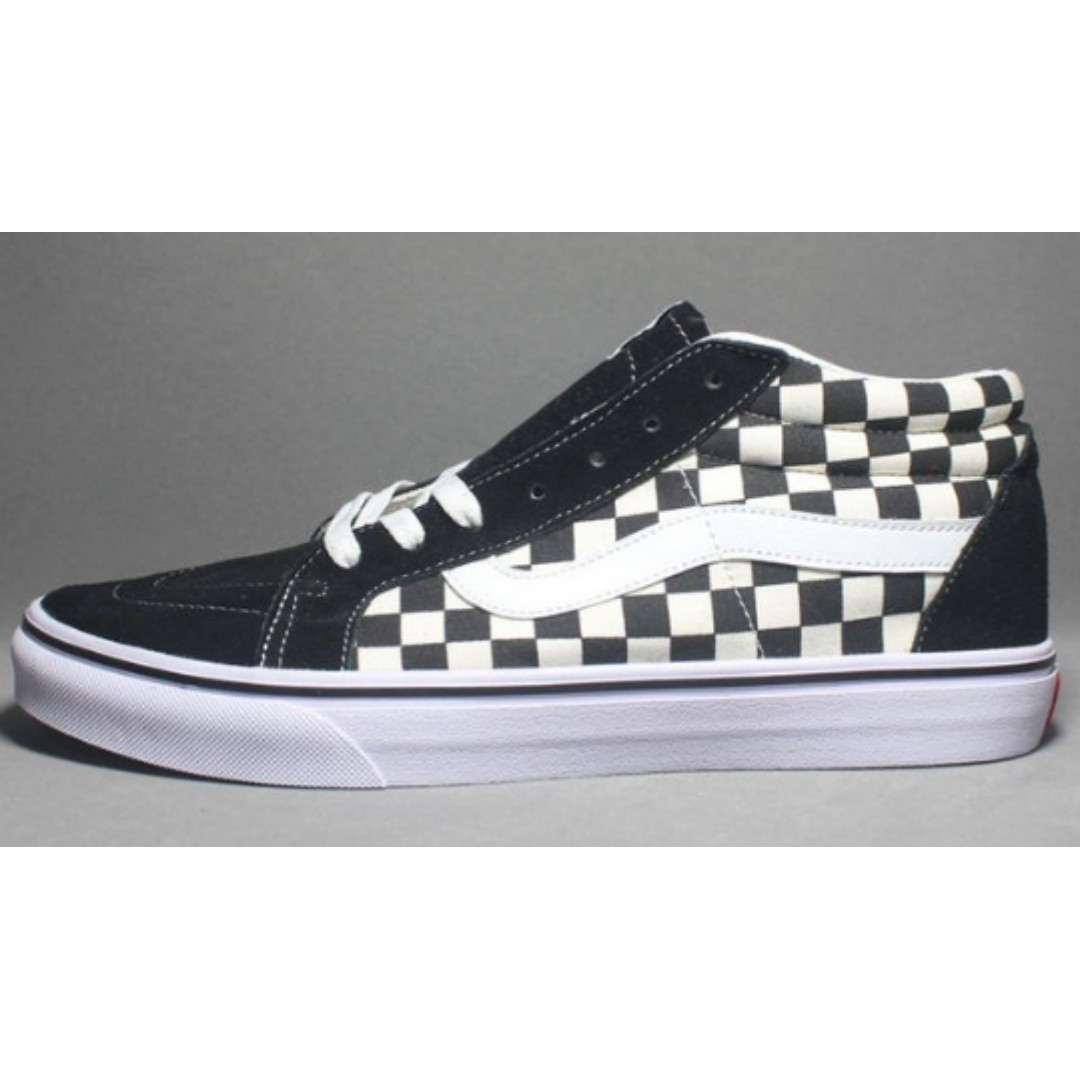 051358870419 Vans Old Skool Men and Women Outdoor Canvas Shoes Black and White ...