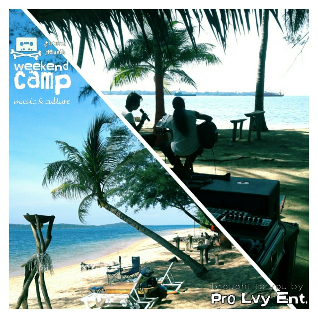 Weekend Camp @ Papan island, Malaysia