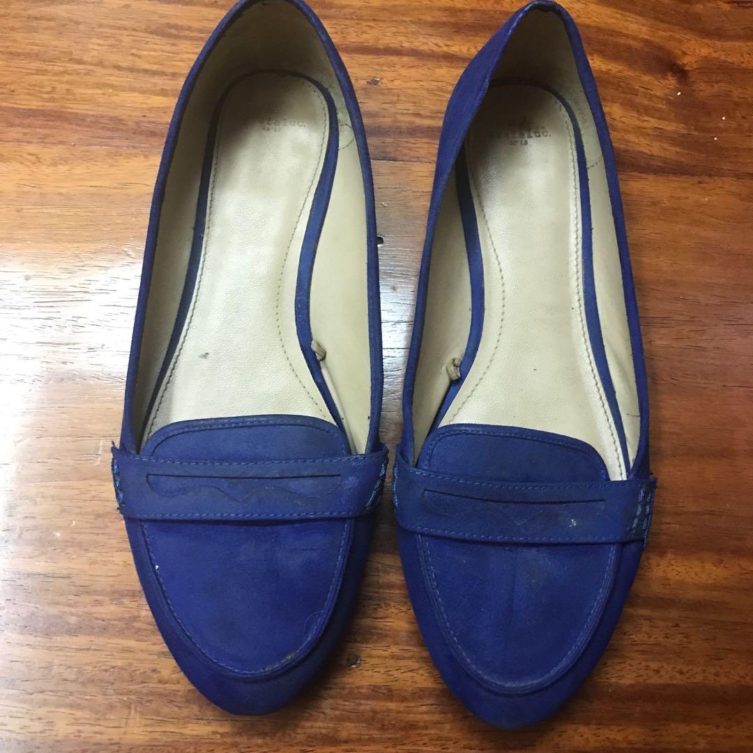 22f41627338 Blue Velvet Loafers Zara - Best Picture Of Blue Imageve.Org