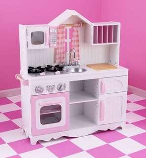(PO) BN KidKraft Modern Country Kitchen Toy Play Set