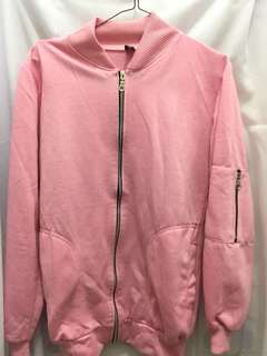 [NEW] Jaket Boomber Pink