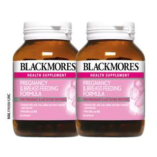BLACKMORES Pregnancy & Breast-Feeding Formula 2 x 60's