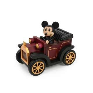 迪士尼 Disney / 米奇復古車木質音樂盒 / D286 / 米老鼠 mickey 汽車 音樂鈴 車子 代購 擺飾
