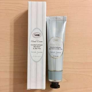 <全新>Sabon Hand Cream Delicate Jasmine 嬌貴茉莉潤手霜支裝30ml