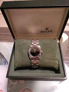 Rolex boy size