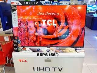 New TCL UHD 4K Smart Tv 43p6 50P6 55P6 (2018model)