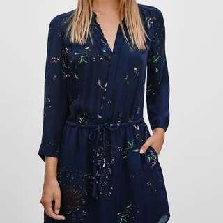 Price Drop. Aritzia Babaton Bennett dress xxs