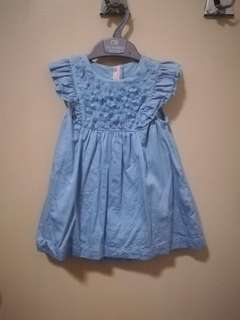M&S baby dress size 9-12months