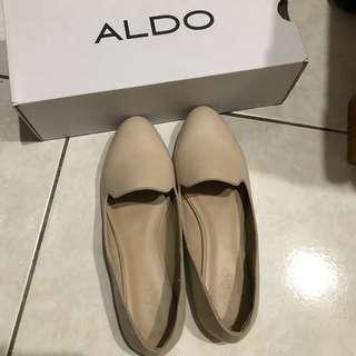白色 樂福鞋