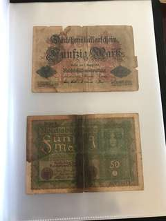 Old Notes - German Old Notes