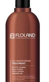 Floland Keratin and Shampoo - best hair treatment. Try it now😊