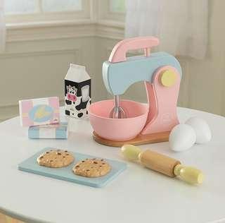BN KidKraft Pastel Baking Cake Cookie Batter Mixer Toy Playset