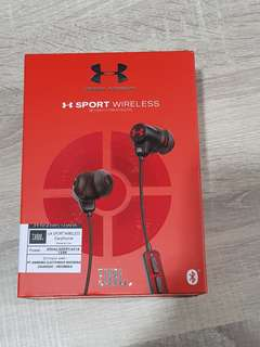 JBL × Under Armour wireless headset