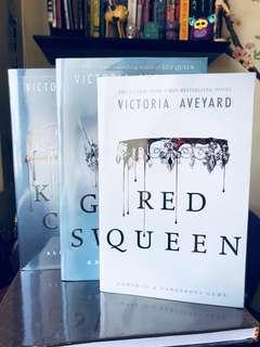 Red Queen series (1-3)