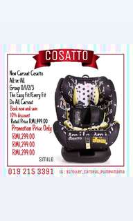 CARSEAT COSATTO ALL IN ALL