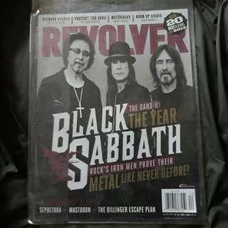 Revolver Magazine Black Sabbath Cover