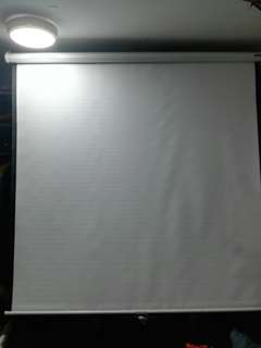 70*70inch  Projector screens....can be used as curtain or room partitions