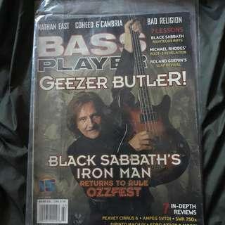 Revolver Magazine Geezer Butler Cover