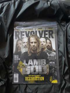 Revolver Magazine Lamb Of God Cover