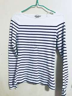 Bn H&M stripes top