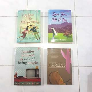Novel Fiksi Penerbit Amore & Gagas Media