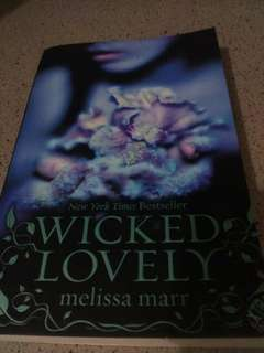 Novel Wicked lovely by Melisa Marr