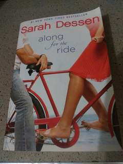 Novel Along for the ride by Sarah Dessen