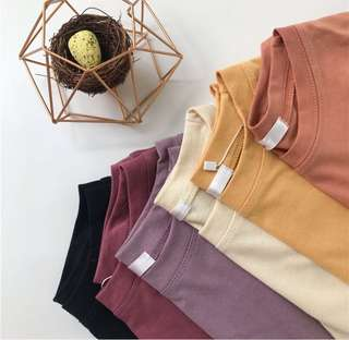 Various color blouse