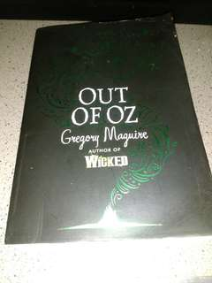 Novel out of OZ by Gregory maguire