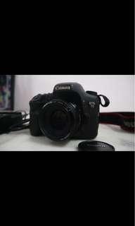 Canon 7D + 50mm markii