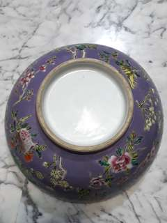 (offer item $150) Old Porcelain Bowl 清老粉彩碗