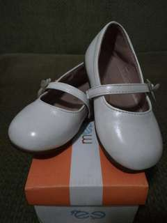 Meet My Feet White Doll Shoes