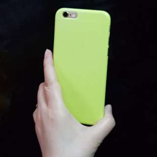 全新净色iPhone Case 6s