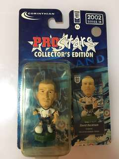 David Beckham England Squad Limited Edition Blister