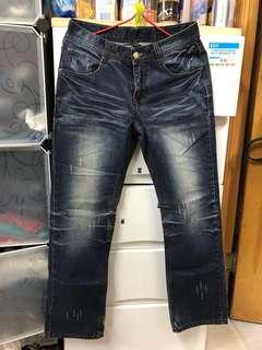 靚洗水直腳牛仔褲 straight jeans 😎記得follow 我。