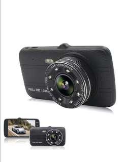 "Car Dash Cam,Full HD 1080P 4"" Screen DVR Camera, 140 Degree Wide Angle Lens ,Night Vision, WDR,G-Sensor,Loop Recording,Parking Guard"