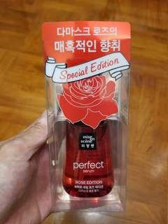 韓國產mise en scene Perfect Serum Rose Edition玫瑰精華髮尾油70ml
