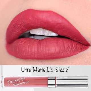 Colourpop Ultra Matte Lip in Sizzle
