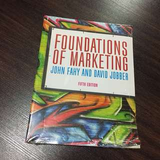 FOUNDATIONS OF MARKETING FIFTH EDITION MC GRAW HILL EDUCATION